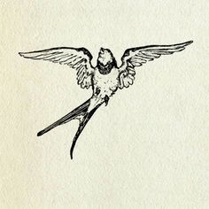 Sparrows represent freedom and a safe journey home. I've decided that if were to get a tattoo that this is what I would get.