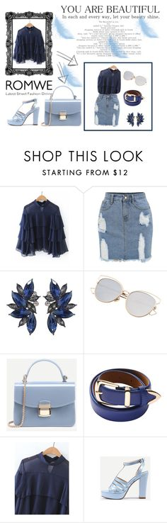 """""""#romwe"""" by lejlaam95 ❤ liked on Polyvore"""