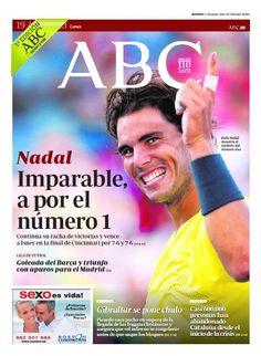 La portada de ABC del lunes 19 de agosto