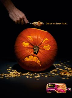As we approach that time of year when pumpkin lanterns adorn front porches, witches hats are an acceptable form of dress, and cries of 'trick or treat' fill the air, FESPA takes a look at some of the best printed adverts that accompany the Halloween season.