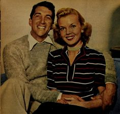 Beautiful couple - Dean and Jeannie -- undated - web source -MReno