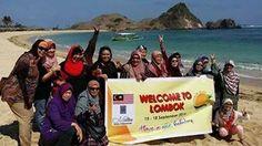 Kuta Beach Lombok Island