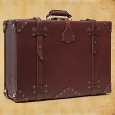 Leather Suitcase  Already have the Thin Briefcase, and LOVE IT! -- Soon you too will be mine.