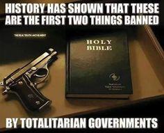 No belief in a God bigger than government and no way to protect yourself from…