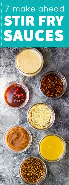 Easy Stir Fry Sauce Recipes 7 Stir Fry Sauces you can make ahead and freeze, plus tips for making freezer stir fry packs. Meal prep made Stir Fry Sauces you can make ahead and freeze, plus tips for making freezer stir fry packs. Meal prep made easy! Sauce Recipes, Cooking Recipes, Freezer Recipes, Chicken Recipes, Sweet Chili, Homemade Sauce, Chutneys, Mets, Asian Recipes