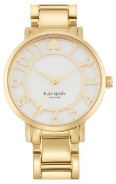 This beautiful and classic Kate Spade watch makes accessorizing so simple.