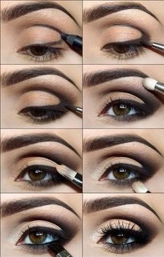 Make up,evening make up, smoky eyes