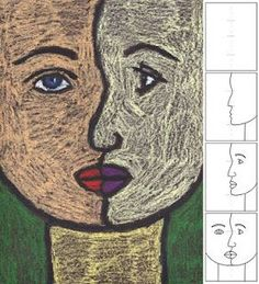 How to Draw a Cubist Portrait