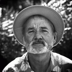 Bill Murray being cool images. Photos of Bill Murray. Bill Murray, Moustaches, Black And White Portraits, Look At You, Famous Faces, Pretty People, Beautiful People, Beautiful Men, Comedians