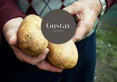 Logo Gustav mit Kartoffelbauer