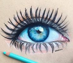 Art-blue eye