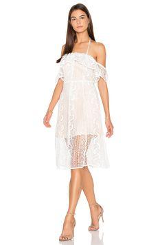 Line & Dot Palais De Dress in White