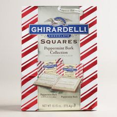 One of my favorite discoveries at WorldMarket.com: Ghirardelli Peppermint Bark Collection Bag