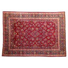 Authentic Sarouk Persian Rug