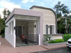 Two Storey House Design with 167 Square Meters Floor Area - Cool House Concepts Two Storey House Plans, Double Storey House, Narrow Lot House Plans, Minimalist House Design, Minimalist Home, Three Bedroom House Plan, Modern Bungalow House, Architectural House Plans, Rest House