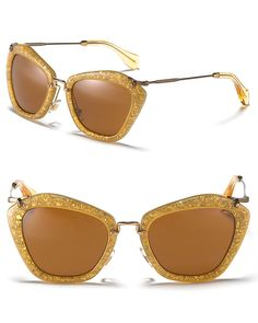 Miu Miu Catwalk Sunglasses with Thin Temple Jewelry   Accessories -  Bloomingdale s. Usando ÓculosOculos De SolVenda ... ea64dd65d6