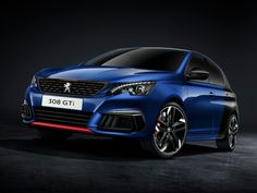 """The Peugeot company has officially submitted the updated version of the """"charged"""" hatchback 308 GTI. Hot-hetch has received the same updates, as """"not hot"""" modification of a five-door. Peugeot 308 Gti, Peugeot 2008, 3008 Peugeot, Volkswagen Golf Variant, Vw Golf Variant, Porsche 356, Bus Vw, Holden Astra, Renault Megane"""