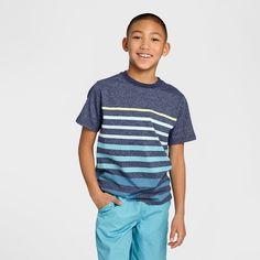 Boys' Classic Stripe T-Shirt  Cat & Jack™ - Blue : Target