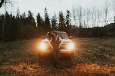 Moody couples session in Montana Outdoor Engagement Pictures, Engagement Shoots, Country Trucks, Fire In My Soul, Couple Photography, Engagement Photography, Photography Ideas, Anniversary Photos, Dancing In The Rain