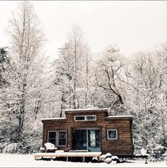 OP: Winter is here, and I am warmer and more comfortable in this little house than I could have imagined.