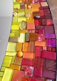 "Mosaic Works: Mosaic ""Sun Mirror"" Mosaic Birdbath, Mosaic Garden Art, Mosaic Tile Art, Mosaic Artwork, Mirror Mosaic, Mosaic Glass, Vitromosaico Ideas, Mosaic Art Projects, Mosaic Stepping Stones"
