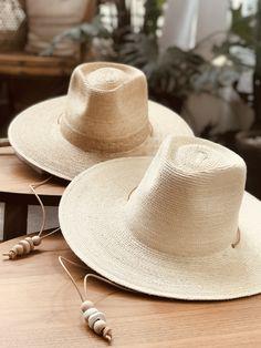 4e07a4094e7 Natural Palm Leaf Hats in Natural Light and Original Dark. Desert Sun