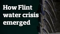 Check out this timeline of the problems with Flint's drinking water
