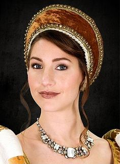 Medieval Headdress   ... Medieval Tudor Ann Boleyn Costume And Headdress - Medieval Costumes