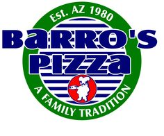 Barro's Pizza with family.  Dads favorite Pizza Rest.