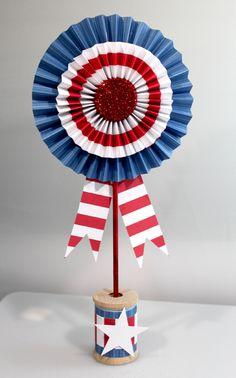 Patriotic rosette