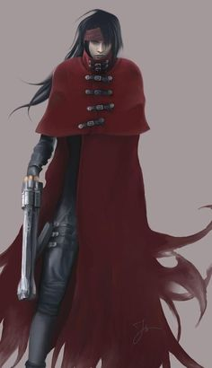 Vincent Valentine. Final Fantasy VII.