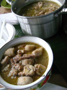 Cocina Costarricense: frito de cerdo