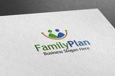Family Plam Style Logo by BdThemes on @creativemarket
