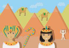 Enquête policière dans l'univers de l'egypte ancienne pour les enfants de 7 ans à 10 ans. Enigme complète avec guide pour les parents, indices, suspects, jeux et mini-jeux, diplômes garçon et fille