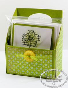 Diy business card box holder craft fair pinterest business httpmylittlecraftblog201203my card storagegift reheart