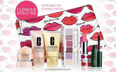 UK bonus time - spend £50 and enter code PUCKERUP on Clinique UK.