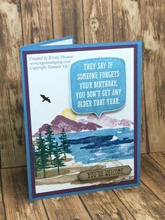 Waterfront, Birthday Wit, 2018 Occasions, Stampin' Up!