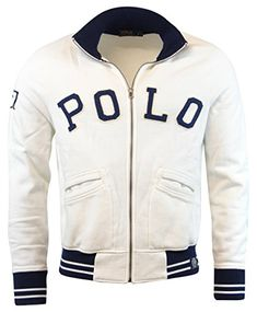 POLO RALPH LAUREN Polo Ralph Lauren Men'S Fleece Full Zip Varsity Jacket. #poloralphlauren #cloth #