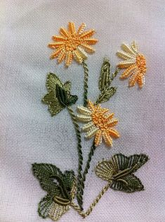 Surface Embroidery Kits Uk Brazilian Embroidery Designs For Bed Sheets Embroidery Supplies, Ribbon Embroidery, Embroidery Patterns, Embroidery Tattoo, Brazilian Embroidery Stitches, Learn Embroidery, Hardanger Embroidery, Cross Stitch Embroidery, Embroidery Needles