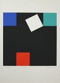 Camille Graeser - Geometrische Komposition - handsigniert, nummeriert, datiert