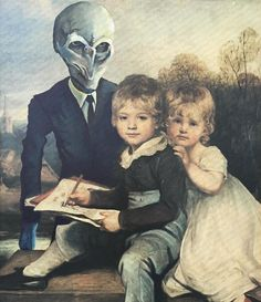 This Guy Continues To Paint Pop-Culture Characters Into Old Thrift-Store Paintings (New Pics)