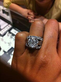 Wedding rings diamond heaven