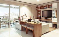 moderne Wohnzimmer von Alessandra Duque Arquitetura & Interiores