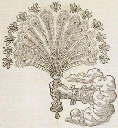 French Emblems: Pictura of Paradin, Claude: Devises heroïques Tolle voluptatum stimulos. Art And Illustration, Antique Illustration, Tarot, Folk Art Flowers, Esoteric Art, Occult Art, Weird Creatures, Free Graphics, Medieval Art