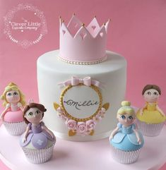 Princess Cake by The Clever Little Cupcake Company