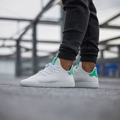 24784f0537edc The  adidasoriginals Tennis HU in Green Glow is back and we have