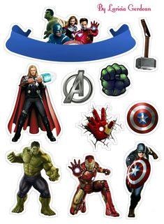 - Oh My Fiesta! for Geeks Avenger Party, Avenger Cupcakes, Avenger Cake, Avengers Birthday Cakes, Superhero Birthday Party, Hulk, Superhero Cake Toppers, Avengers Party Decorations, Marvel Cake