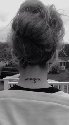 Inspired by the song Imagine & my love for John Lennon. Means a lot to me because my grandmother bought it for me & she loves John Lennon as much as I do.
