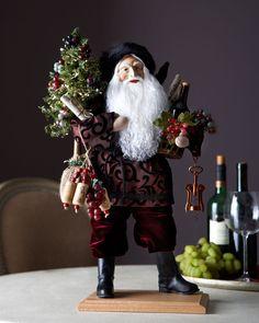 Lynn Haney Christmas in the Vineyard Santa - Neiman Marcus