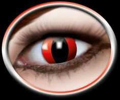 Red cat's eye's will give you a different sharp look